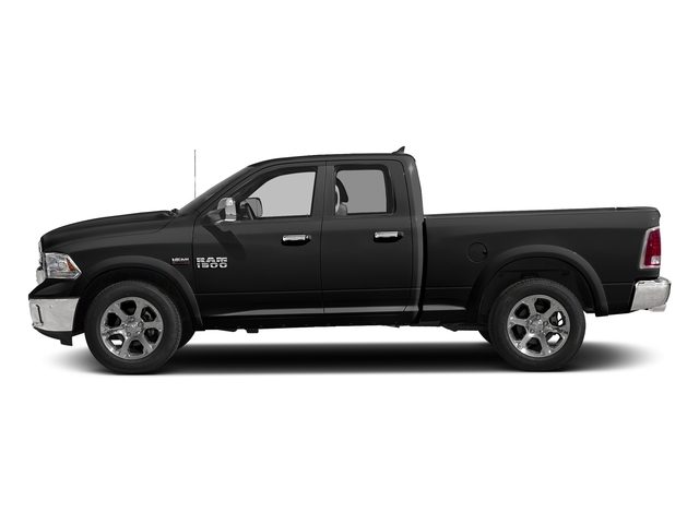 Brilliant Black Crystal Pearlcoat 2017 Ram Truck 1500 Pictures 1500 Quad Cab Laramie 4WD photos side view