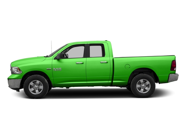 Hills Green 2017 Ram Truck 1500 Pictures 1500 Quad Cab SLT 2WD photos side view