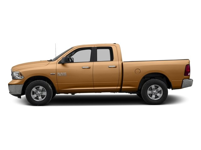 Power Tan 2017 Ram Truck 1500 Pictures 1500 Quad Cab Bighorn/Lone Star 2WD photos side view