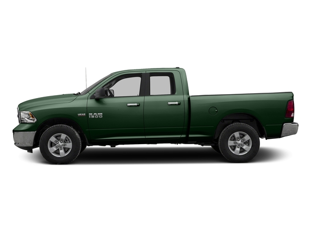 Timberline Green Pearlcoat 2017 Ram Truck 1500 Pictures 1500 Quad Cab SLT 2WD photos side view