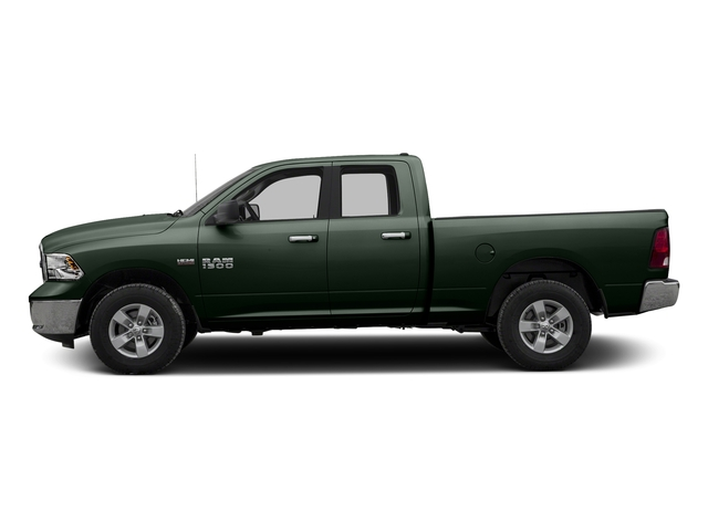 Black Forest Green Pearlcoat 2017 Ram Truck 1500 Pictures 1500 Quad Cab SLT 2WD photos side view