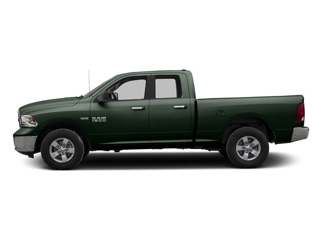 Black Forest Green Pearlcoat 2017 Ram Truck 1500 Pictures 1500 Quad Cab Bighorn/Lone Star 2WD photos side view
