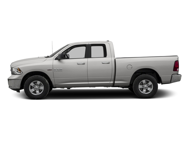 Bright Silver Metallic Clearcoat 2017 Ram Truck 1500 Pictures 1500 Quad Cab SLT 2WD photos side view