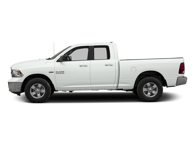 Bright White Clearcoat 2017 Ram Truck 1500 Pictures 1500 Quad Cab Bighorn/Lone Star 2WD photos side view