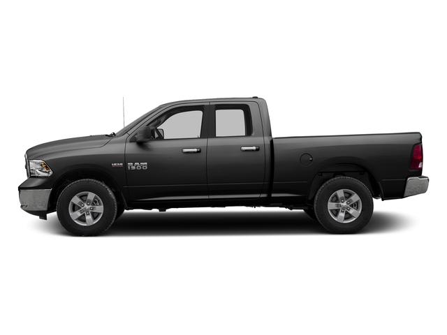 Brilliant Black Crystal Pearlcoat 2017 Ram Truck 1500 Pictures 1500 Quad Cab SLT 2WD photos side view