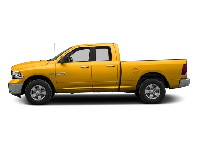 Detonator Yellow Clearcoat 2017 Ram Truck 1500 Pictures 1500 Quad Cab SLT 2WD photos side view