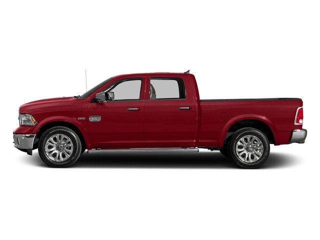 Flame Red Clearcoat 2017 Ram Truck 1500 Pictures 1500 Longhorn 4x4 Crew Cab 6'4 Box photos side view