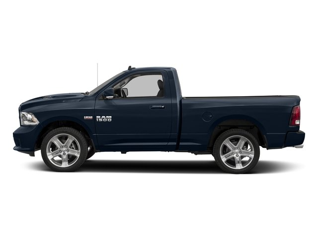 True Blue Pearlcoat 2017 Ram Truck 1500 Pictures 1500 Night 4x2 Regular Cab 6'4 Box photos side view