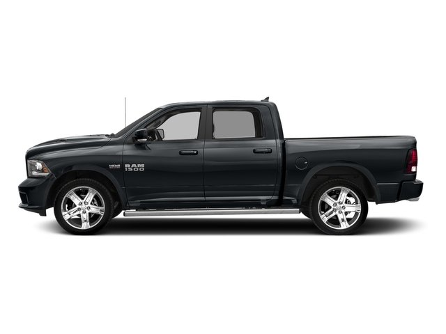 Maximum Steel Metallic Clearcoat 2017 Ram Truck 1500 Pictures 1500 Night 4x2 Crew Cab 5'7 Box photos side view