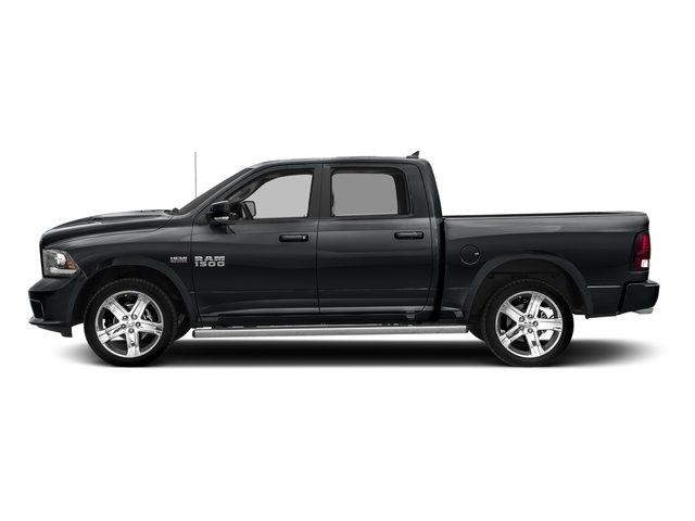 Maximum Steel Metallic Clearcoat 2017 Ram Truck 1500 Pictures 1500 Night 4x4 Crew Cab 5'7 Box photos side view