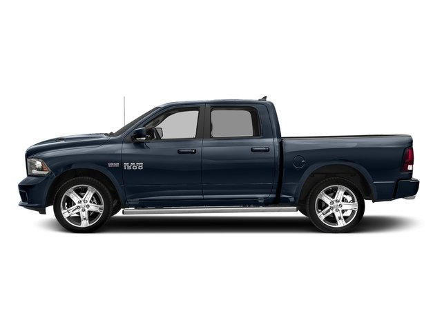 True Blue Pearlcoat 2017 Ram Truck 1500 Pictures 1500 Night 4x4 Crew Cab 5'7 Box photos side view