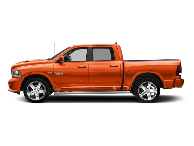 Ignition Orange Clearcoat 2017 Ram Truck 1500 Pictures 1500 Crew Cab Sport 4WD photos side view