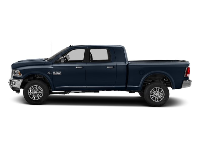 True Blue Pearlcoat 2017 Ram Truck 2500 Pictures 2500 Mega Cab Laramie 4WD photos side view