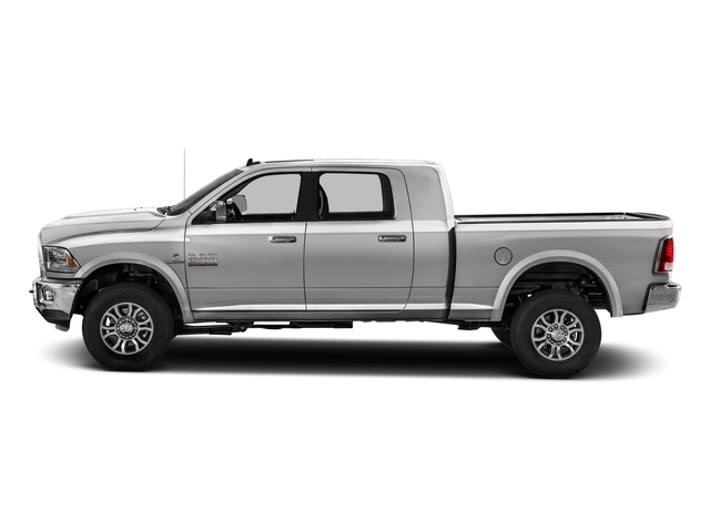 Bright Silver Metallic Clearcoat 2017 Ram Truck 2500 Pictures 2500 Mega Cab Laramie 4WD photos side view