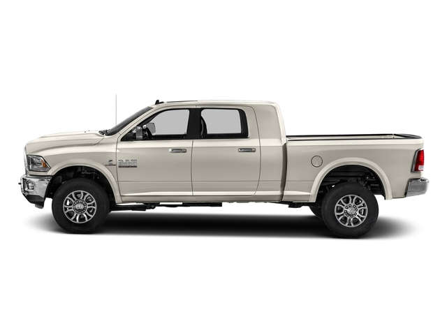 Pearl White 2017 Ram Truck 2500 Pictures 2500 Mega Cab Laramie 4WD photos side view