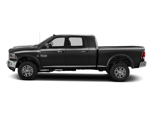 Brilliant Black Crystal Pearlcoat 2017 Ram Truck 2500 Pictures 2500 Mega Cab Laramie 4WD photos side view