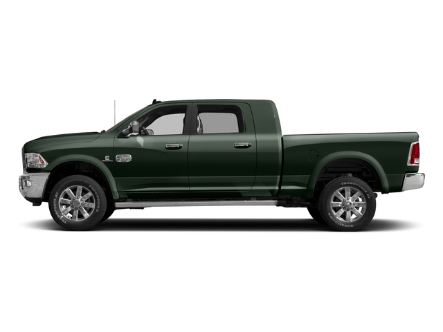 Black Forest Green Pearlcoat 2017 Ram Truck 2500 Pictures 2500 Longhorn 4x2 Mega Cab 6'4 Box photos side view