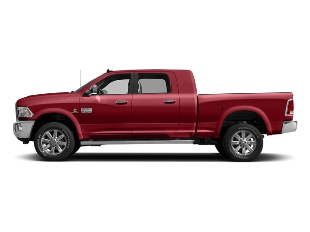 Flame Red Clearcoat 2017 Ram Truck 2500 Pictures 2500 Longhorn 4x2 Mega Cab 6'4 Box photos side view