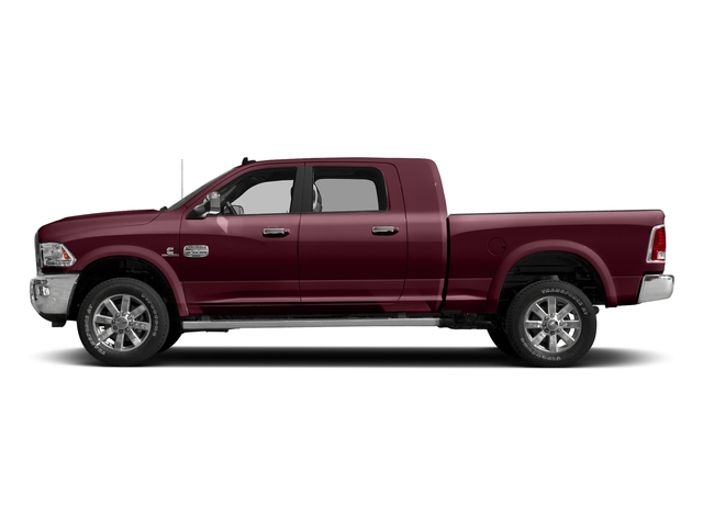 Delmonico Red Pearlcoat 2017 Ram Truck 2500 Pictures 2500 Mega Cab Limited 4WD photos side view