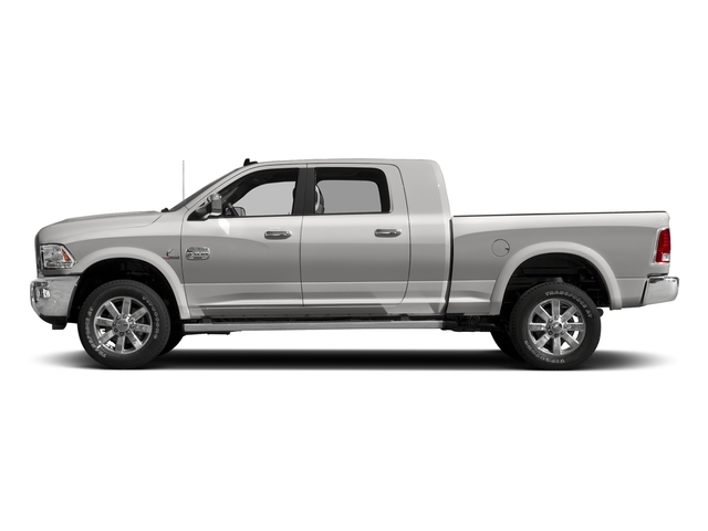 Bright Silver Metallic Clearcoat 2017 Ram Truck 2500 Pictures 2500 Mega Cab Limited 2WD photos side view