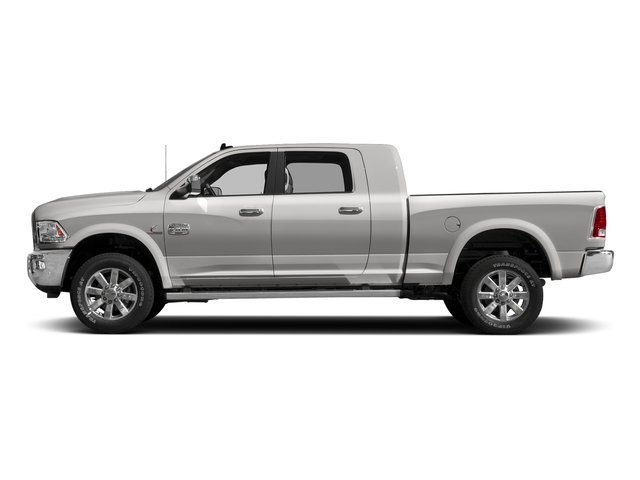 Bright Silver Metallic Clearcoat 2017 Ram Truck 2500 Pictures 2500 Mega Cab Limited 4WD photos side view