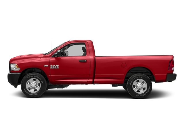 Bright Red 2017 Ram Truck 2500 Pictures 2500 SLT 4x4 Reg Cab 8' Box photos side view