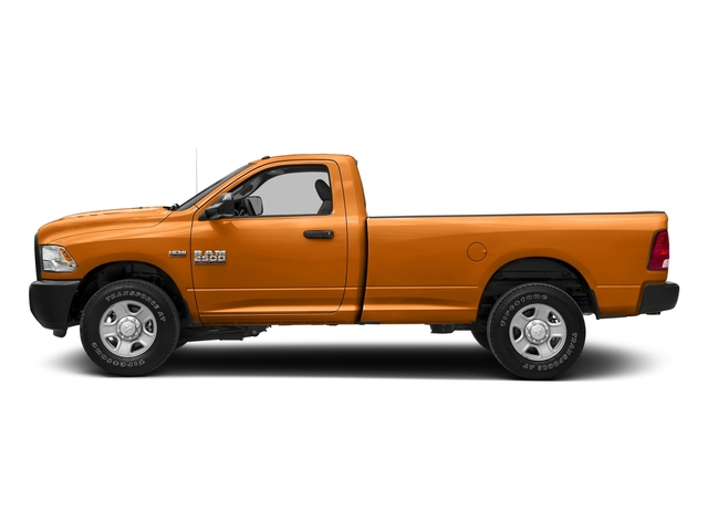 Omaha Orange 2017 Ram Truck 2500 Pictures 2500 Regular Cab SLT 2WD photos side view