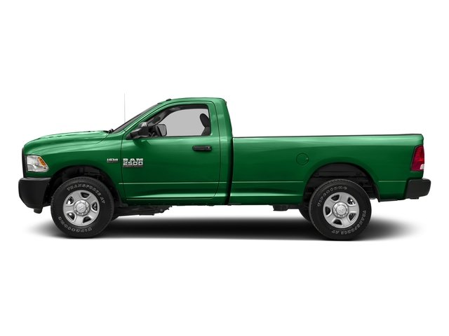 Bright Green 2017 Ram Truck 2500 Pictures 2500 SLT 4x4 Reg Cab 8' Box photos side view