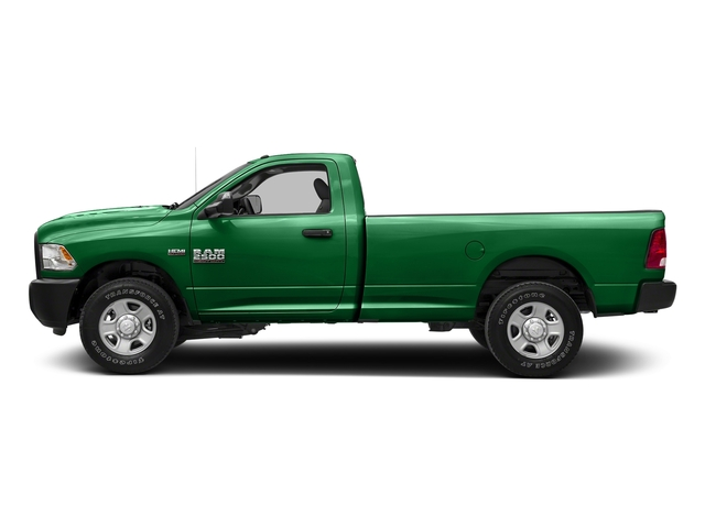 Bright Green 2017 Ram Truck 2500 Pictures 2500 Regular Cab SLT 2WD photos side view