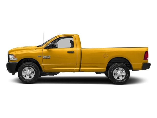 Construction Yellow 2017 Ram Truck 2500 Pictures 2500 SLT 4x4 Reg Cab 8' Box photos side view