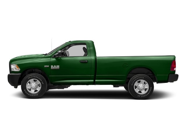 Tree Green 2017 Ram Truck 2500 Pictures 2500 SLT 4x4 Reg Cab 8' Box photos side view