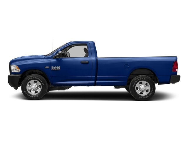 Blue Streak Pearlcoat 2017 Ram Truck 2500 Pictures 2500 Regular Cab SLT 2WD photos side view