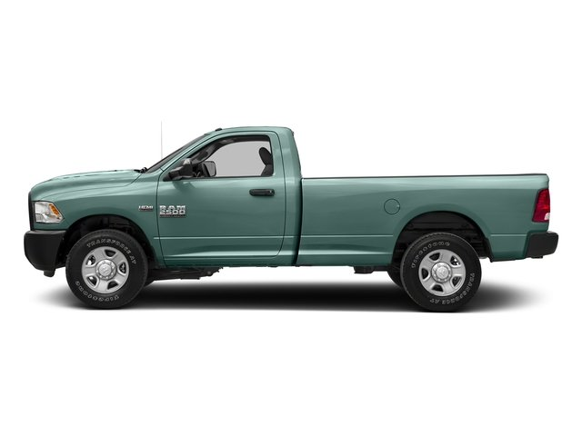 Light Green 2017 Ram Truck 2500 Pictures 2500 Regular Cab SLT 2WD photos side view