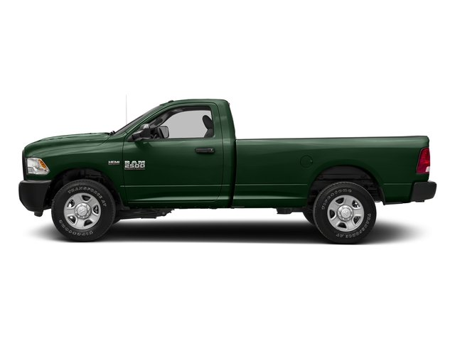 Timberline Green Pearlcoat 2017 Ram Truck 2500 Pictures 2500 SLT 4x4 Reg Cab 8' Box photos side view