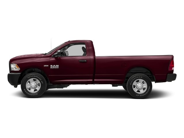 Delmonico Red Pearlcoat 2017 Ram Truck 2500 Pictures 2500 SLT 4x4 Reg Cab 8' Box photos side view