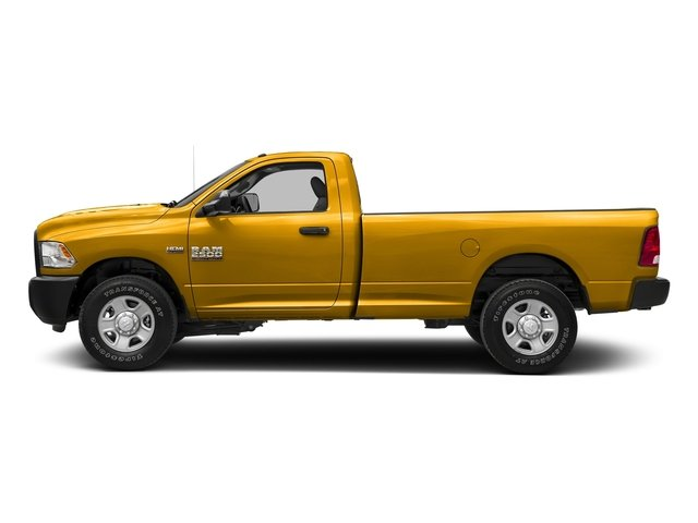 Detonator Yellow Clearcoat 2017 Ram Truck 2500 Pictures 2500 Regular Cab SLT 2WD photos side view