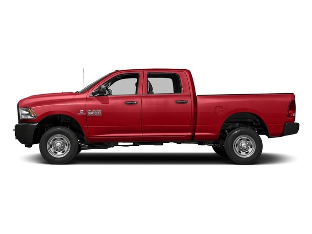 Bright Red 2017 Ram Truck 2500 Pictures 2500 Crew Cab Tradesman 2WD photos side view