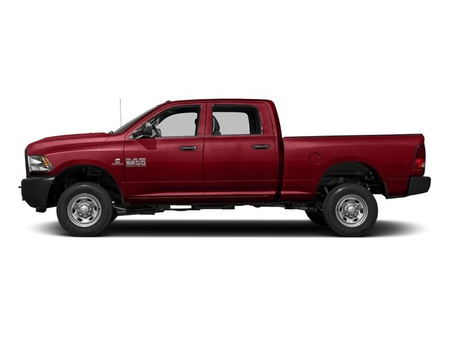 Flame Red Clearcoat 2017 Ram Truck 2500 Pictures 2500 Crew Cab Tradesman 2WD photos side view