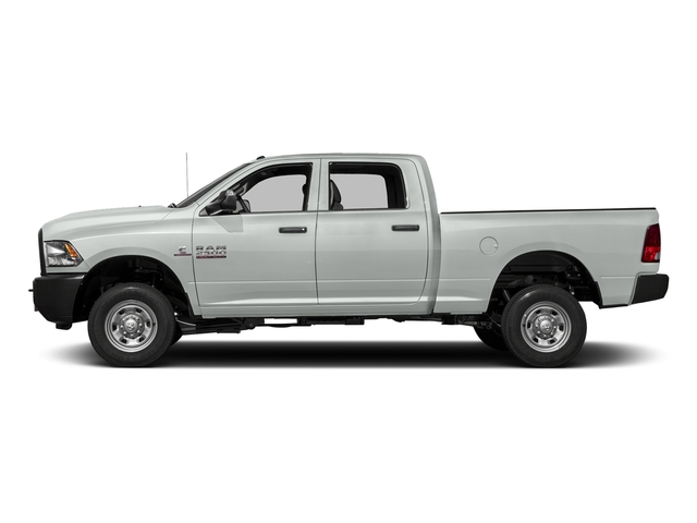 Bright White Clearcoat 2017 Ram Truck 2500 Pictures 2500 Crew Power Wagon Tradesman 4WD photos side view