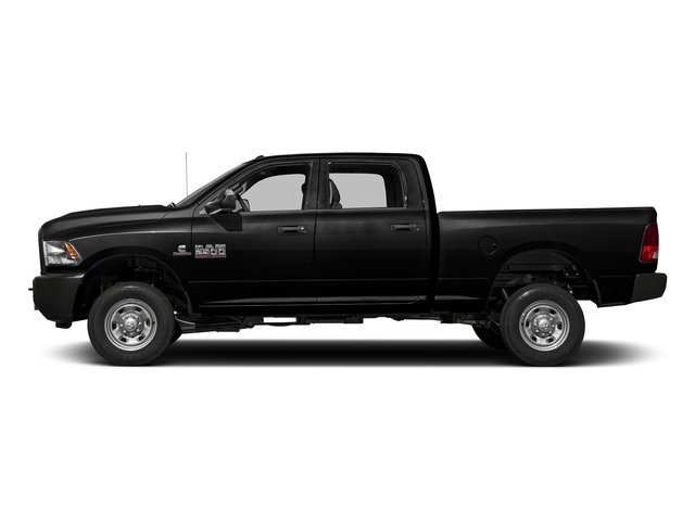 Brilliant Black Crystal Pearlcoat 2017 Ram Truck 2500 Pictures 2500 Crew Power Wagon Tradesman 4WD photos side view