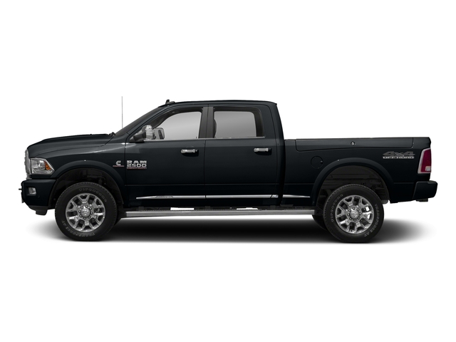 Maximum Steel Metallic Clearcoat 2017 Ram Truck 2500 Pictures 2500 Laramie Longhorn 4x2 Crew Cab 8' Box photos side view
