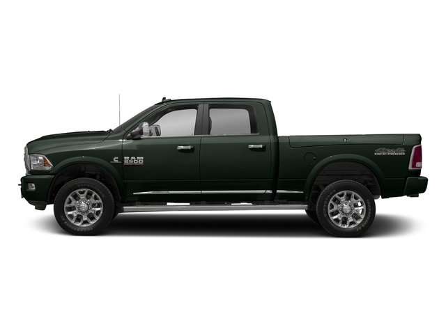 Black Forest Green Pearlcoat 2017 Ram Truck 2500 Pictures 2500 Longhorn 4x4 Crew Cab 6'4 Box photos side view