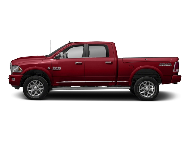 Flame Red Clearcoat 2017 Ram Truck 2500 Pictures 2500 Crew Cab Longhorn 2WD photos side view