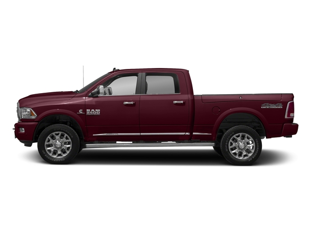 Delmonico Red Pearlcoat 2017 Ram Truck 2500 Pictures 2500 Longhorn 4x4 Crew Cab 8' Box photos side view