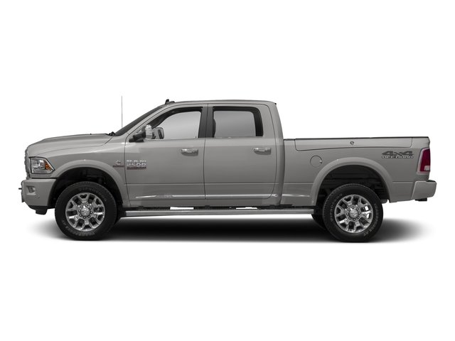 Bright Silver Metallic Clearcoat 2017 Ram Truck 2500 Pictures 2500 Laramie Longhorn 4x2 Crew Cab 8' Box photos side view