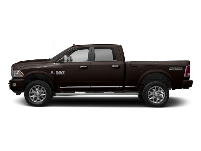 Luxury Brown Pearlcoat 2017 Ram Truck 2500 Pictures 2500 Laramie Longhorn 4x2 Crew Cab 8' Box photos side view