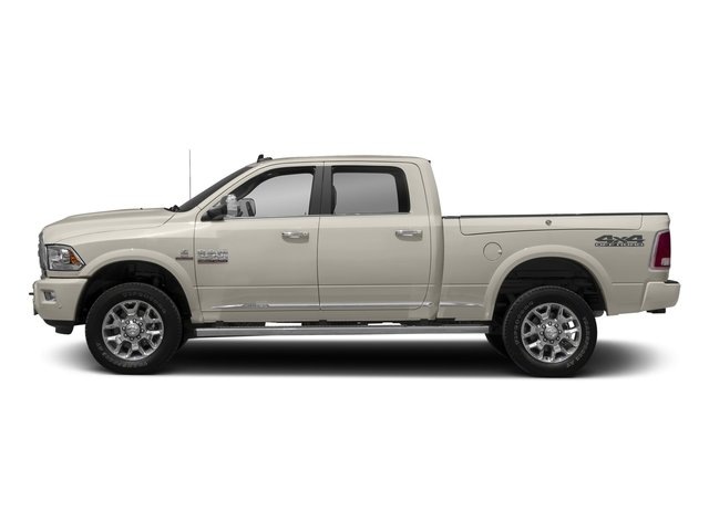 Pearl White 2017 Ram Truck 2500 Pictures 2500 Longhorn 4x4 Crew Cab 6'4 Box photos side view