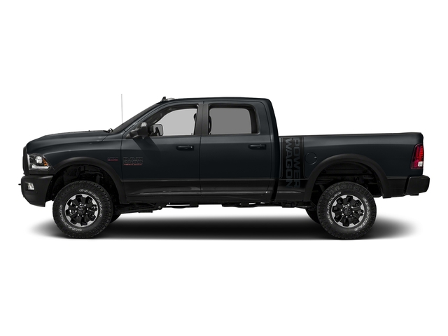 Maximum Steel Metallic Clearcoat 2017 Ram Truck 2500 Pictures 2500 Power Wagon 4x4 Crew Cab 6'4 Box photos side view