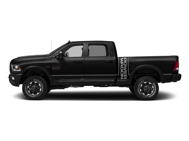Brilliant Black Crystal Pearlcoat 2017 Ram Truck 2500 Pictures 2500 Laramie Power Wagon 4x4 Crew 6'4 Box *Ltd Avail* photos side view