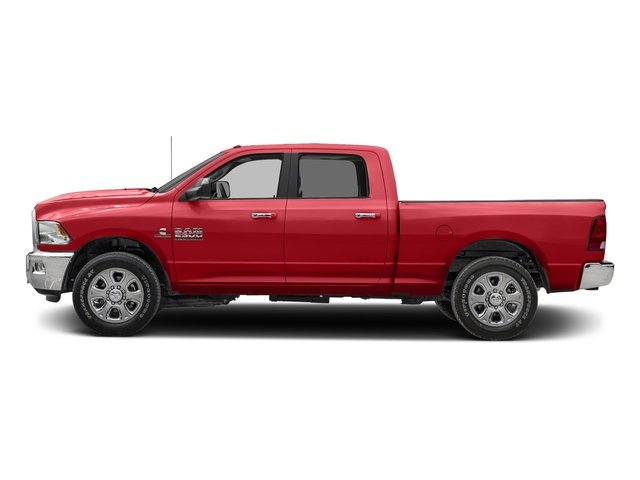 Bright Red 2017 Ram Truck 2500 Pictures 2500 SLT 4x2 Crew Cab 8' Box photos side view